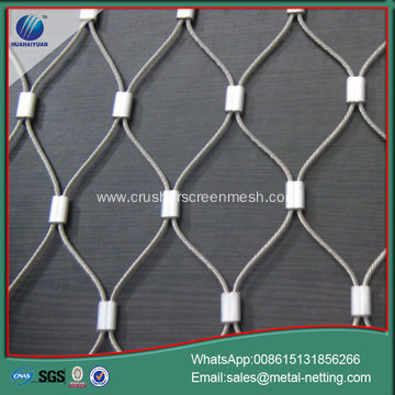 SUS304 rope woven mesh protection rope netting